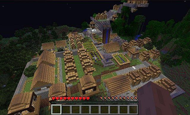 Massive Village XoL Minecraft Project