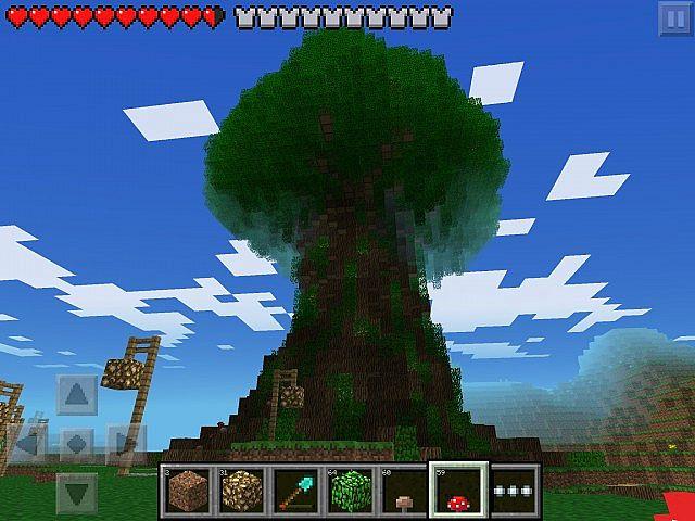 Huge tree - Mobtrap (Minecraft PE) Minecraft Project