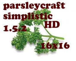ParsleyCraft [16x] [HD Simplistic] [1.5.2] [Highly W.I.P!] v9 Minecraft Texture Pack