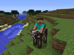 Passenger - Minecraft bukkit plugin - Sit on player, animals and mobs Minecraft Mod