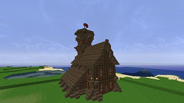 Towerhouse Minecraft Project