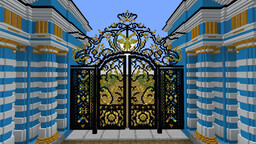Catherine Palace - Pushkin, Russia Minecraft Map & Project