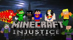 Injustice: Gods Among Us Minecraft PVP Map Minecraft