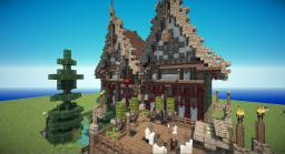 St Cora, Manor House Minecraft Map & Project