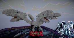BlueEyes Ultimate Dragon from Yu-Gi-Oh Minecraft Project