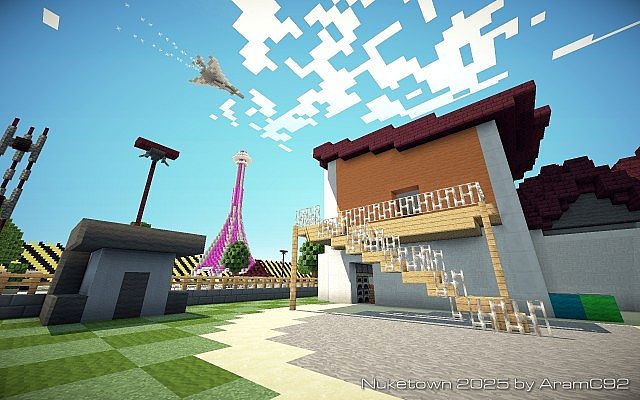 Call Of Duty Nuketown 2025 Map Remake By Aramc92 Minecraft