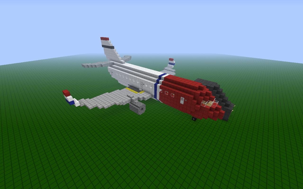 Two Norwegian Airplanes Minecraft Project