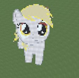 Derpy Hoves Minecraft Map & Project