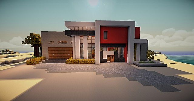 Adobe Modern Home Minecraft Project