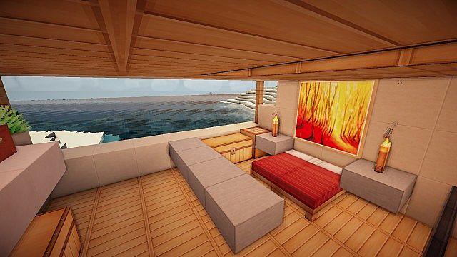 Underground Modern House By Garnezz Minecraft Project