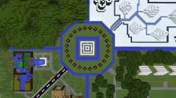 Minecraft Survival Games: Postapocalyptica Minecraft Map & Project