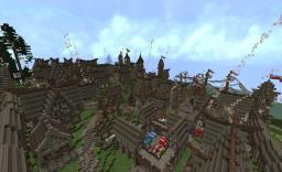 Minecraft creations | Graniczna Nordic city Minecraft Map & Project