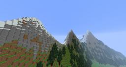 Mountain Range for TheSherwoodProject Minecraft Map & Project