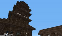 Kanji Village Minecraft Project
