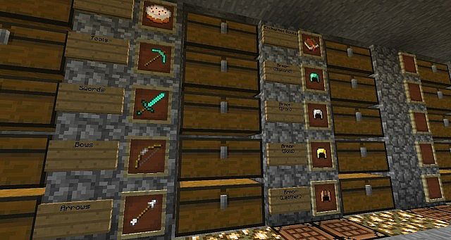 Basement Storage Minecraft Project