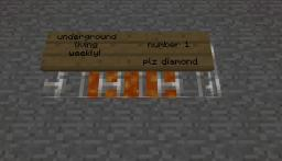 Underground Living Weekly #1 Minecraft Blog