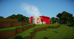 Modern House Nr3 Minecraft Project