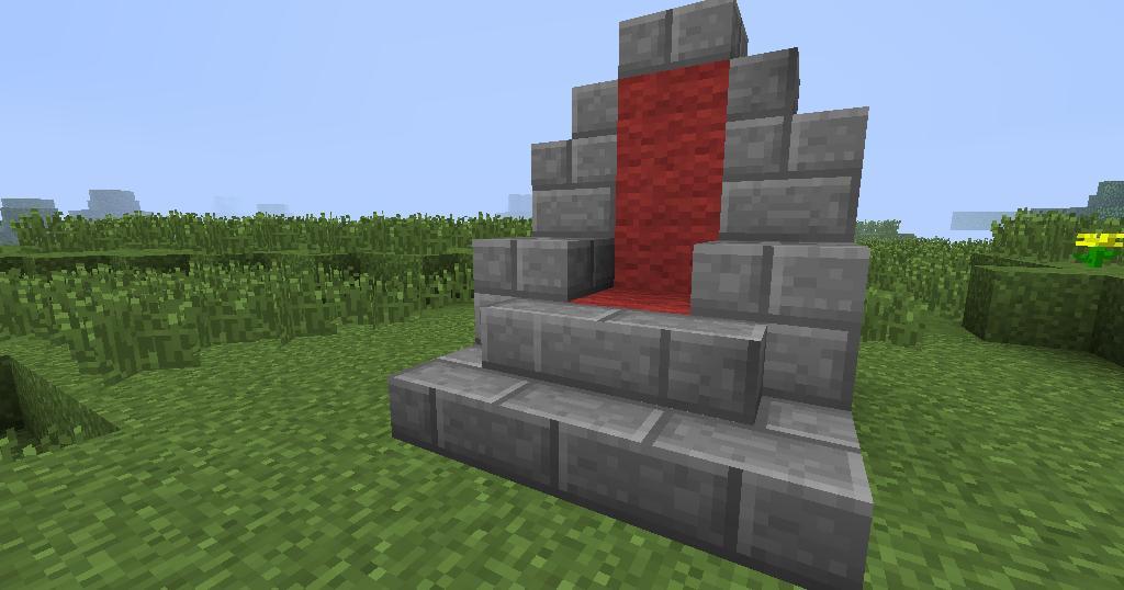 Furniture In Minecraft 3 Seating Blog