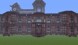 Scarlet Devil Mansion-東方-Touhou Minecraft Map & Project