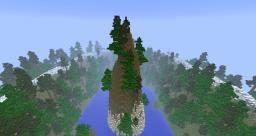Mountain Island ||| Custom Terraforming Map Minecraft Map & Project