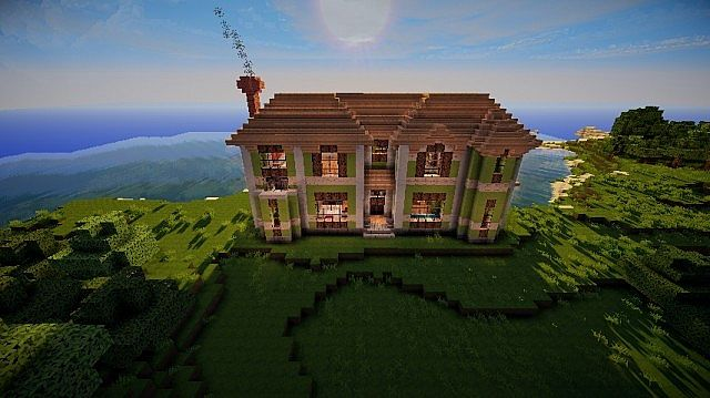 Mid Sized Victorian House Minecraft Project