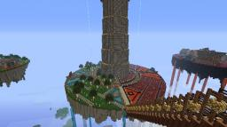 Tower of  Conjoined Deities. Minecraft Map & Project