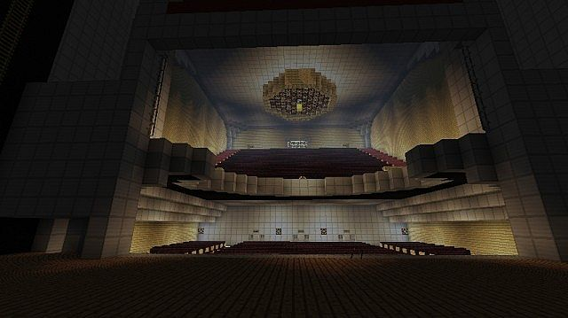 Al hirschfeld theatre minecraft project