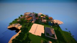 Small Modern City Minecraft Map & Project