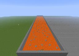 lava parkour Minecraft Project