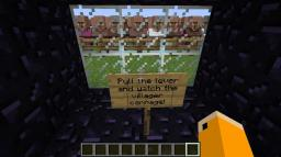 Villagers Go Boom! Minecraft Project