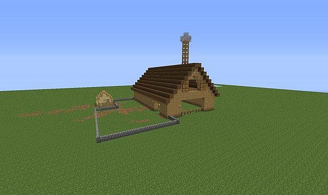 Anys Barn Minecraft Project