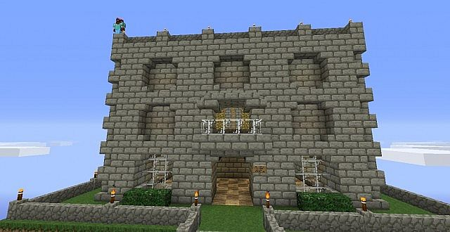 Stone Brick Mansion Minecraft Project
