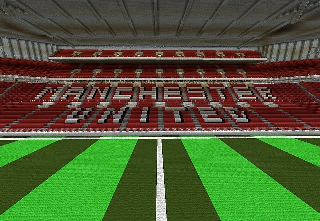 Minecraft Old Trafford
