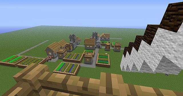 Windmill House Schematic Minecraft Project