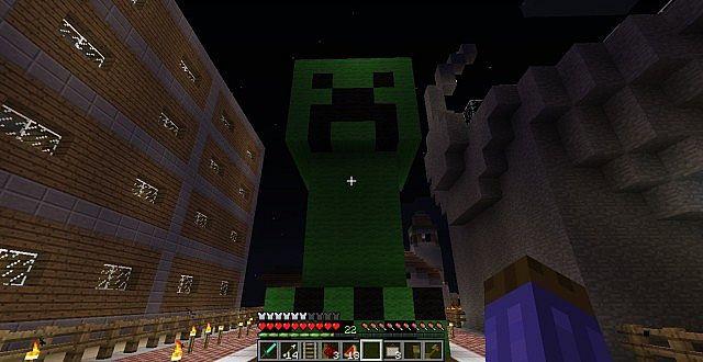 Creeper Man protector de los noobssshhhhh