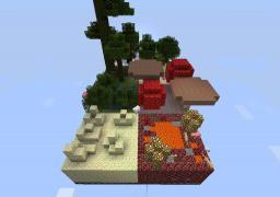 multi biome survival Minecraft Project