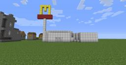 Mc Donalds Minecraft Map & Project