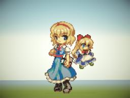 Touhou Project - Alice Margatroid Minecraft Map & Project