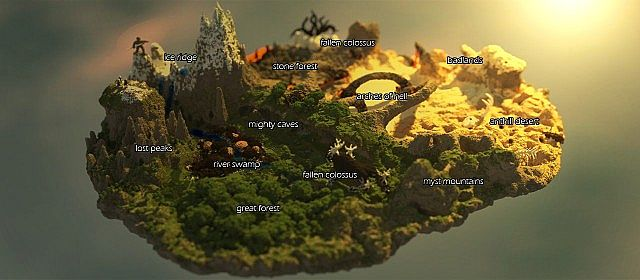 A general overview of the map!