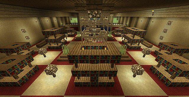 Underground Library Minecraft Project