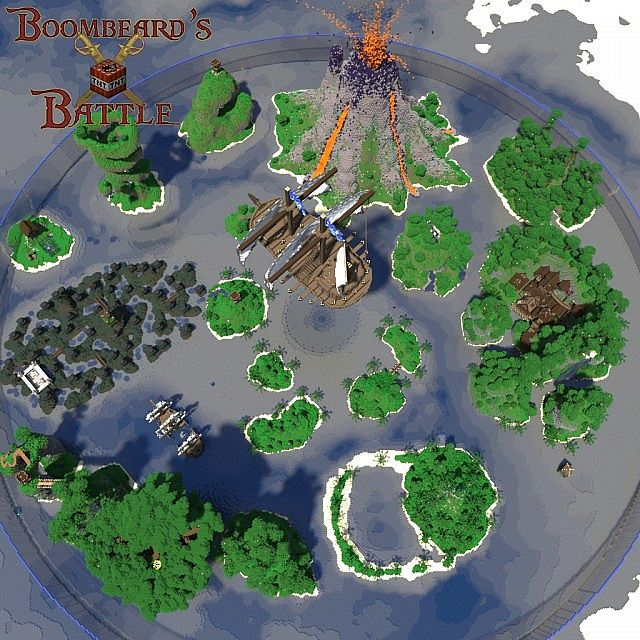 Boombeards Battle Survival Games contest entry Minecraft Project