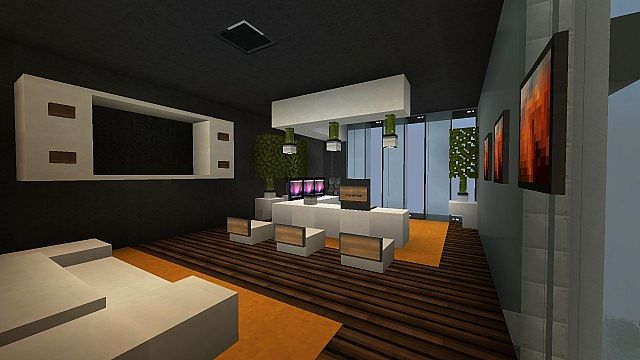 22 simple office furniture minecraft for Office design minecraft
