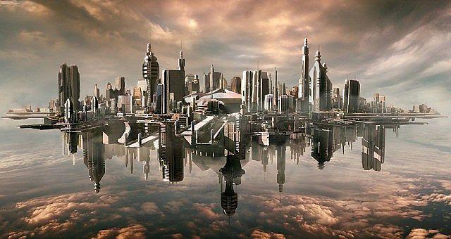 Sky City Olympus Minecraft Project