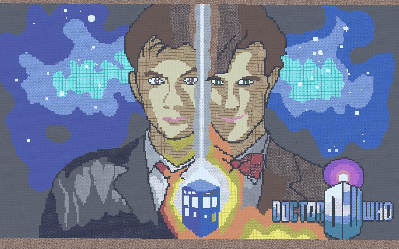 Doctor Whos Tenth And Eleventh Doctor Minecraft Project