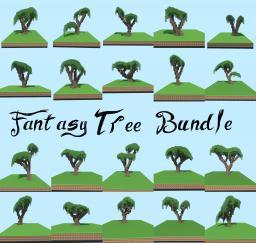 Fantasy Tree Bundle Minecraft Map & Project