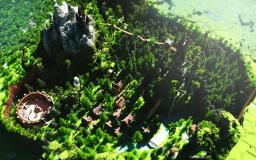 Elantria - The Hidden Valley Minecraft Map & Project