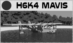 H6K4 Mavis [Seaplane Bomber] Minecraft Map & Project