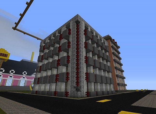 Hochhaus mit 4 stockwerke minecraft project - Minecraft hochhaus ...