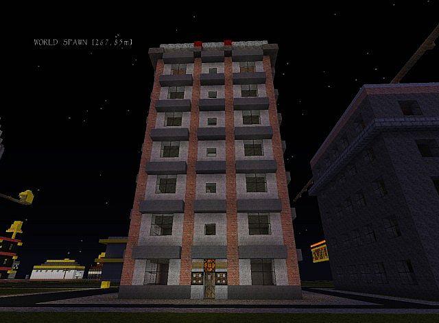 Hochhaus mit 7 stockwerke minecraft project - Minecraft hochhaus ...