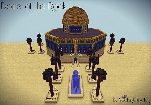 Dome Of The Rock Jerusalem Minecraft Project